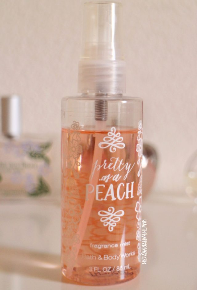 Bath and Body Works Peach Body Mist
