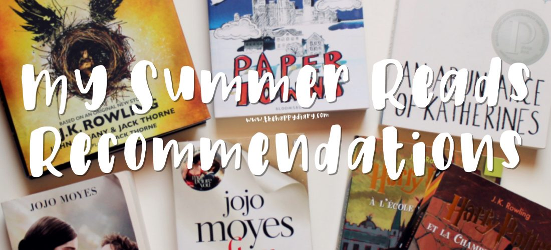 My Summer Reads Recommendations (Collab)