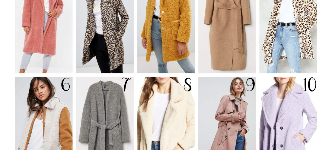 The Ultimate Fall Coat Wishlist (under 100$ !)