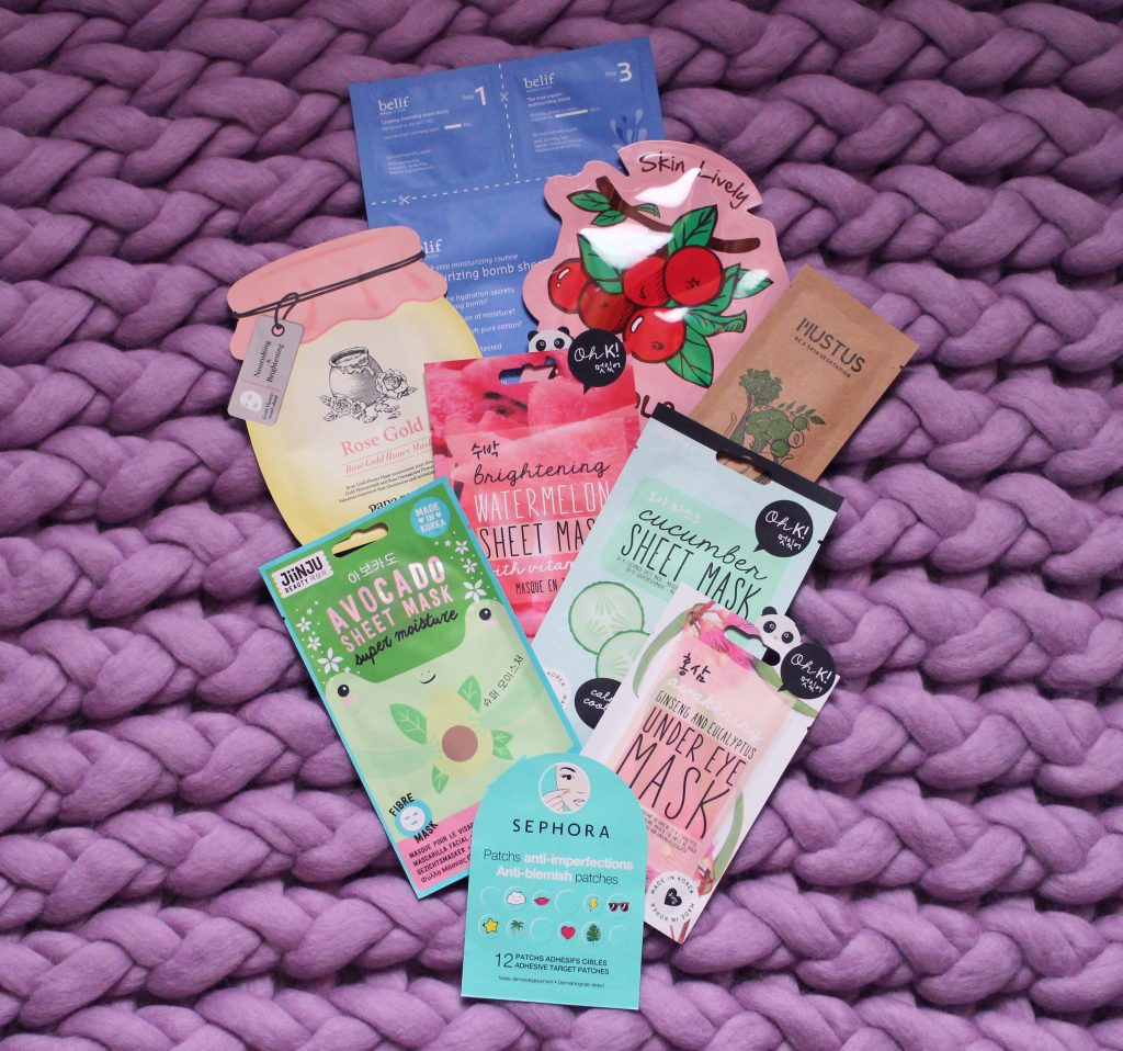 Korean Sheet Masks