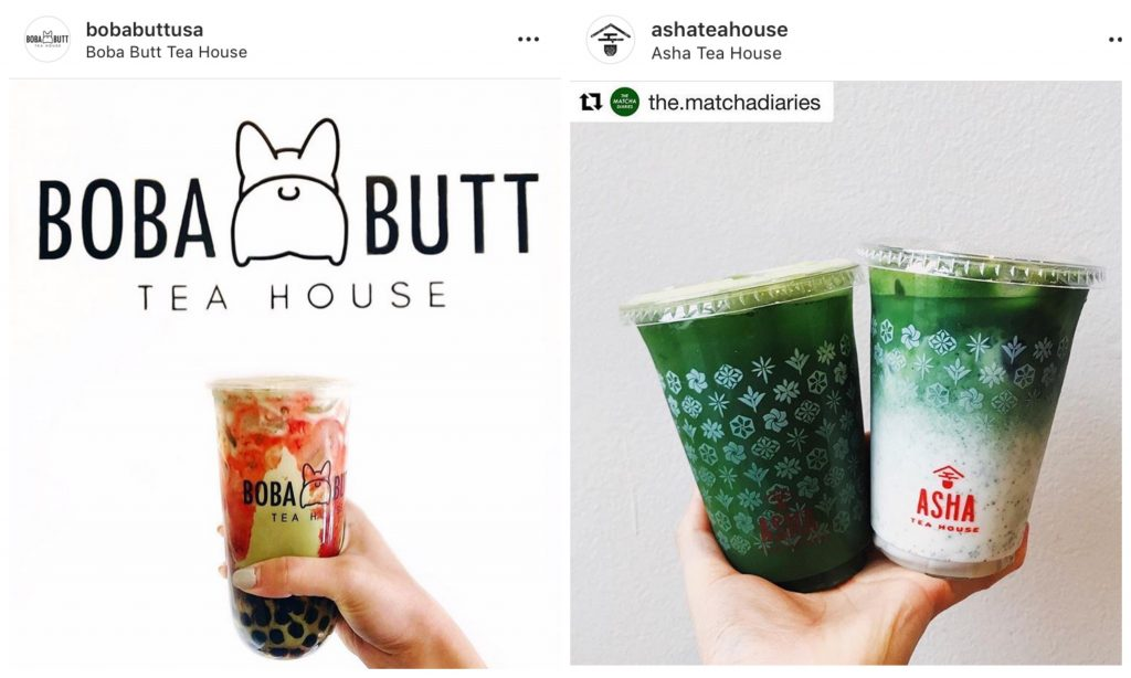 Boba Butt Asha Tea House San Francisco