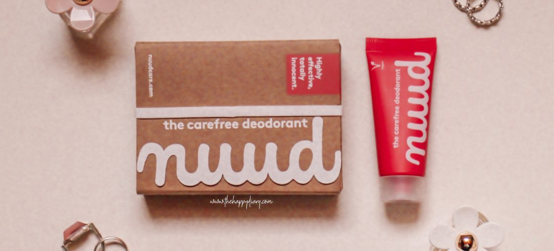 Review: Nuud, the Carefree Deodorant (Gifted)