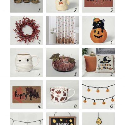 fall and halloween home decor ideas