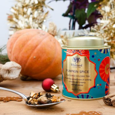 Elsa Eats whittard pumpkin spice tea fall autumn food