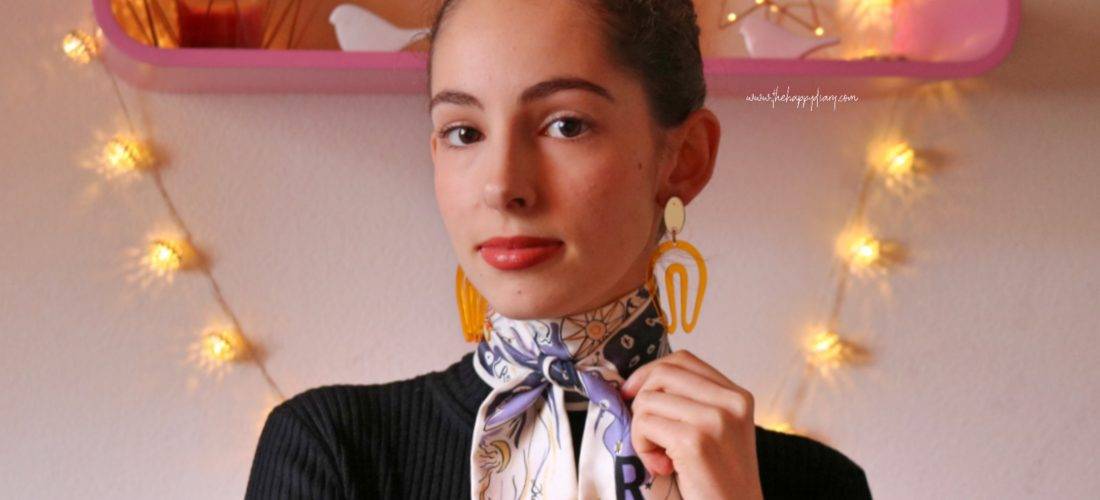 My silk scarf collection & How I wear them